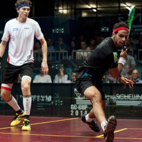 Mohamed Abouelghar- Professional Squash Player, Egypt
