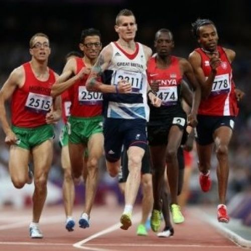 David Devine- T12 and T13 Middle-distance British Paralympic Athlete