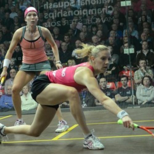Laura Massaro - Professional Squash Player, World Ranked Number 2, British and European Number 1,2013 Squash Player of the Year and World Squash Champion 2014