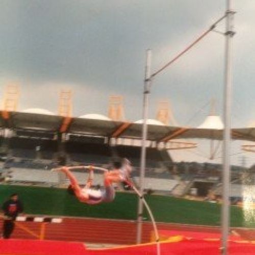 Mark Johnson- WMACi Budapest 2014 M45 Pole Vault Winner