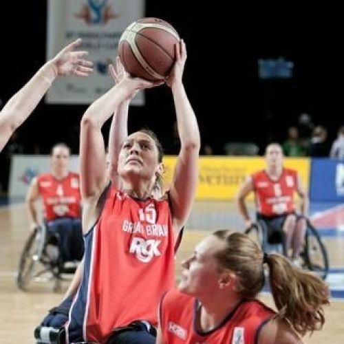 Sarah McPhee – GB Wheelchair Basketball