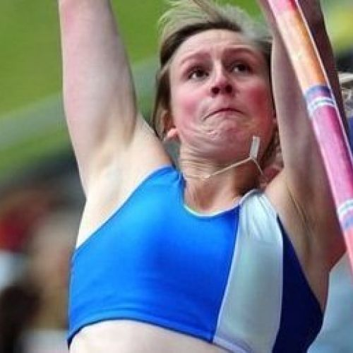 Holly Bleasdale - British Olympic Pole Vaulter